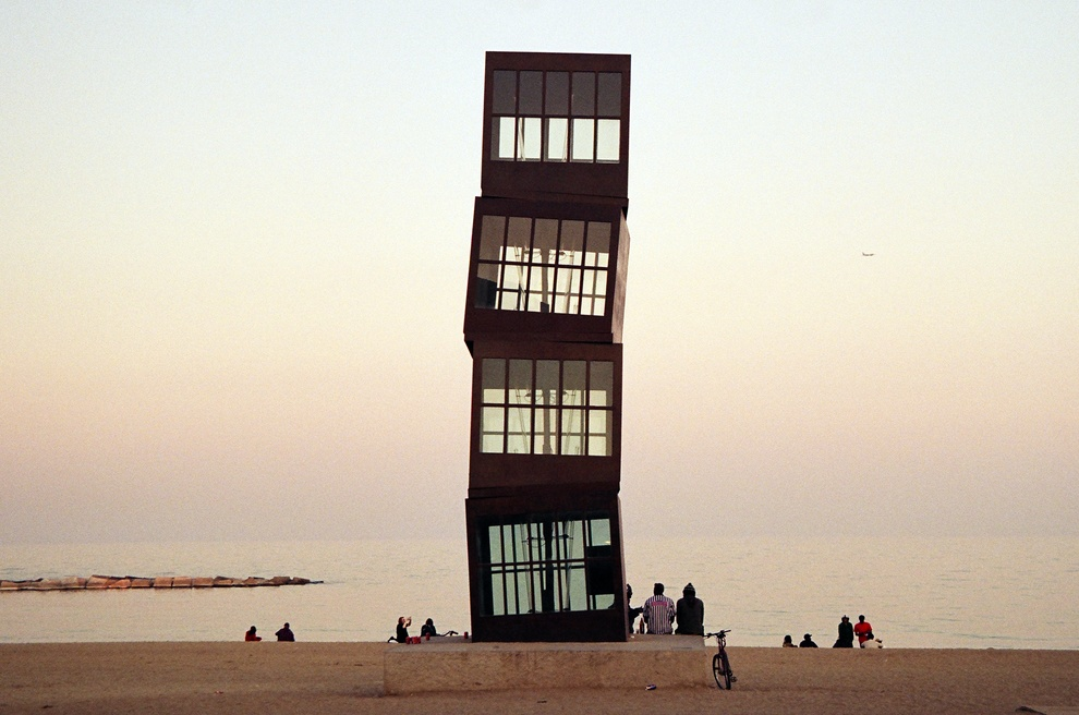 Barceloneta beach + tower